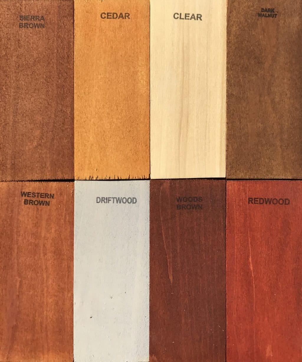 Wet Wood Semi Transpa Tung Linseed Oil Stain Colors